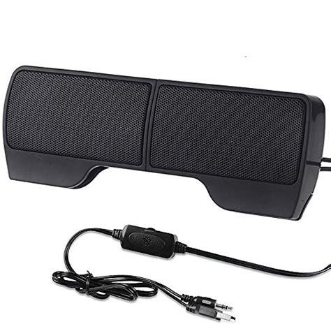 elenker portable mini clip on usb powered stereo speaker