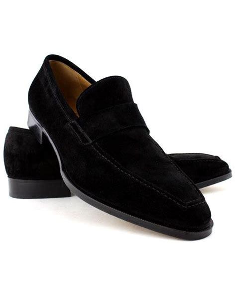 all black loafers mens gravati black suede venetian loafer suede venetian loafer