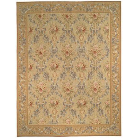 10 x 10 wool flatweave rugs safavieh handmade couture aubusson flatweave gold