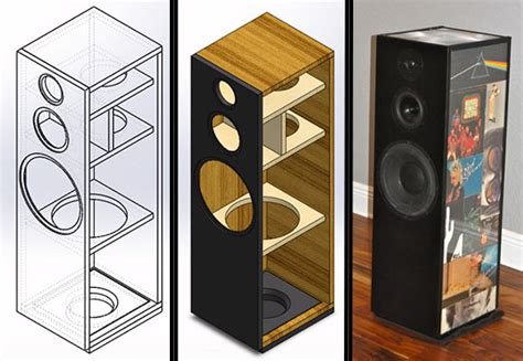 build folding table legs bookshelf speaker diy plans
