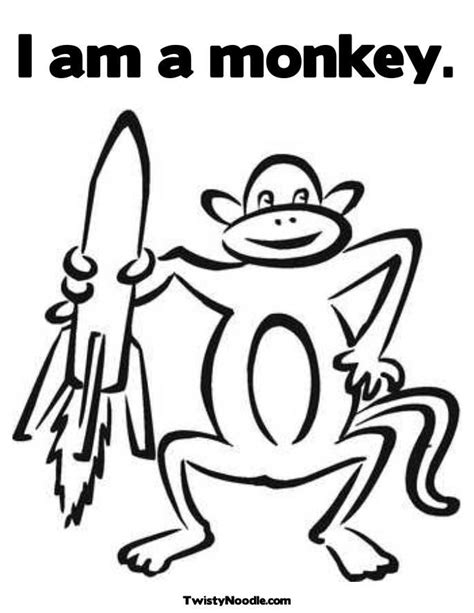monkey head coloring page monkey coloring pages for kids coloring home