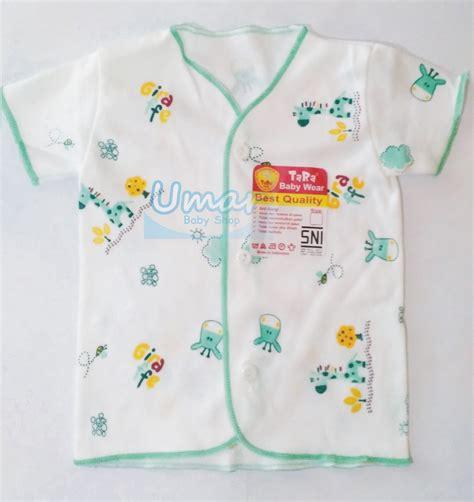 Baju Bayi Newborn Merk Jual Murah Baju Bayi Lengan Pendek Tara New Born Putih
