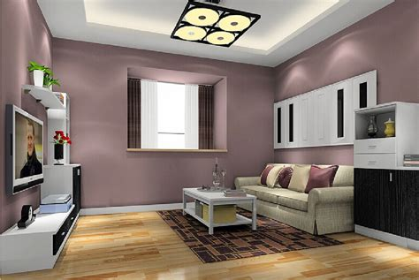 wall paint colors for living room 3d interior hallway and tv wall paint color 3d house