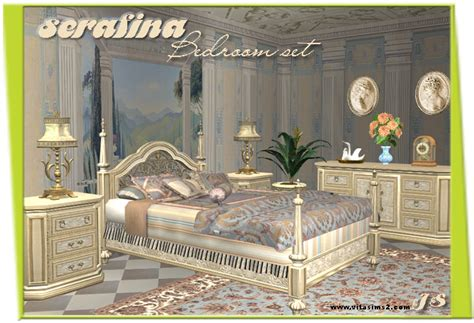Canapy Bed vitasims2 downloads evrything for sims2