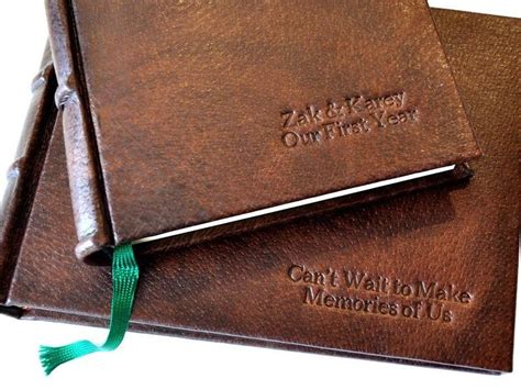 Handmade Italian Leather Journals - handmade italian distressed leather journal deckled