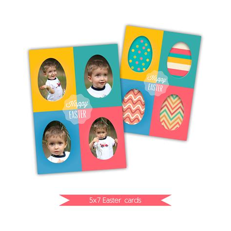 free easter card templates photoshop nuwzz 5x7 easter card photoshop template di 0056 nuwzz
