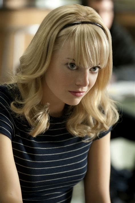 spider man film emma stone emma stone featured in two new stills from the amazing
