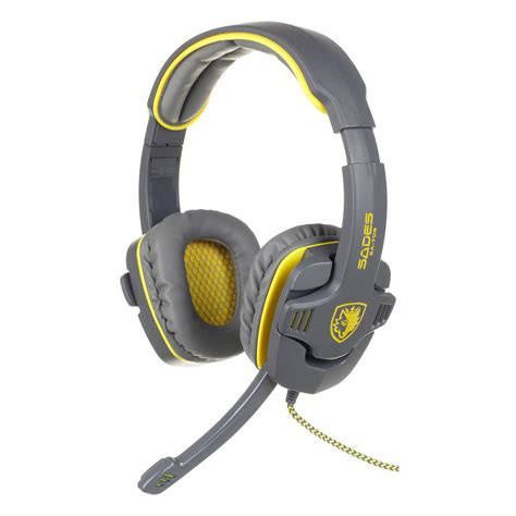 Headset Gaming Sades Sa 804 sades sa 708gt hifi stereo bass headset headband 3 5mm pc notebook pro gaming ebay