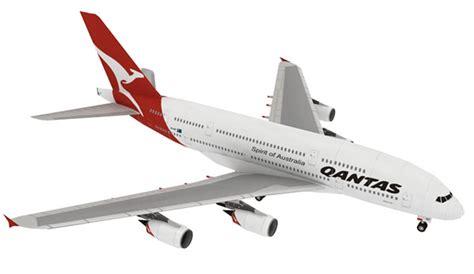 Playmat Air Plane Mainan Bayi Berkualitas jual diy miniatur papercraft pesawat airbus a380 qantas