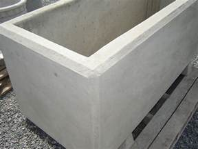 barrier rectangular planter mackay precast products