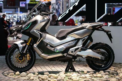 modifikasi vespa offroad scooter road da honda apresentada a 15 de