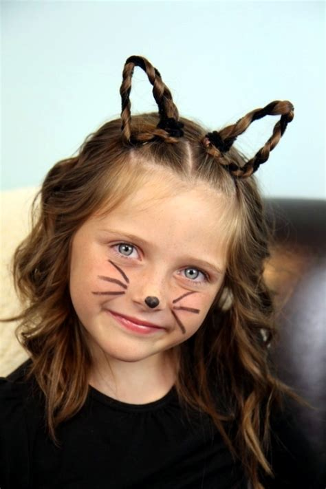 cat costume hairstyles 53 non scary halloween costumes makeup and hairstyles