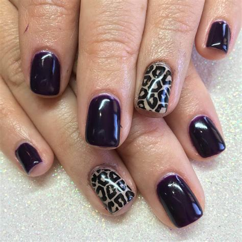 leopard pattern nail art 20 leopard nail art designs ideas design trends