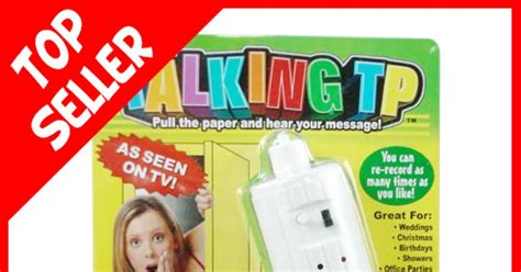 Talking Toilet Paper Holder Reminds You To Wash Your by Talking Toilet Paper Photos Crappy Inventions Ny