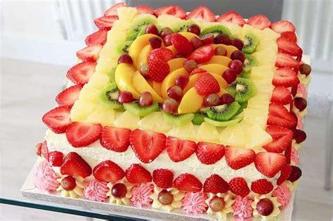 decorare torta con kiwi torte con frutta fresca foto 26 40 pourfemme