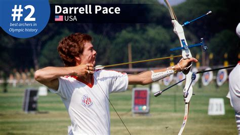 best archery best olympic archers of all time 2 darrell pace world