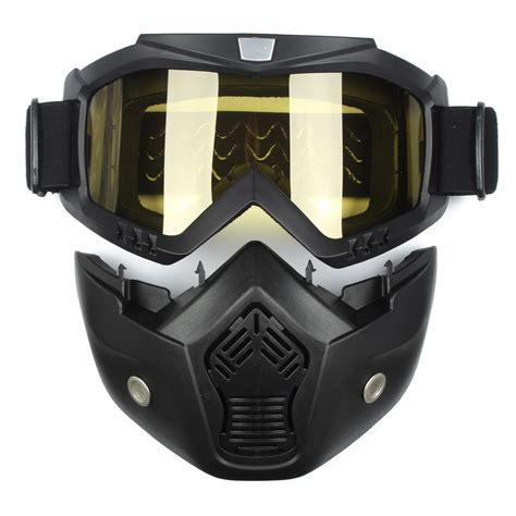 Inbike Helmet Magnetic Goggles Bike With 2 Lens Helm Sepeda Mx 9t detachable modular helmet mask shield goggles yellow lens motorcycle bike alex nld