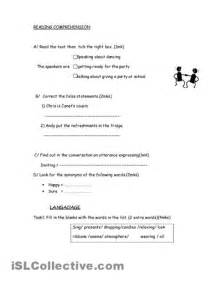 6 best images of 8th grade reading worksheets printable