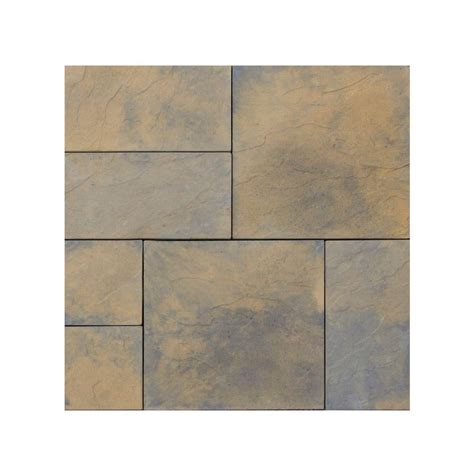 Nantucket Pavers Patio On A Pallet 12 In X 24 In And 24 18 Inch Patio Pavers