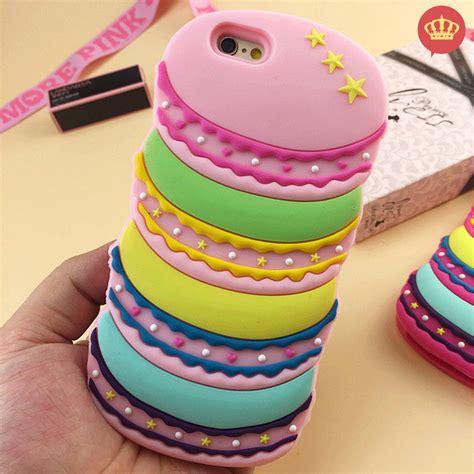 Iphone 5 5s Macaroon by Capinha Para Iphone 5 5s 5c 6 6s Macarons 3d