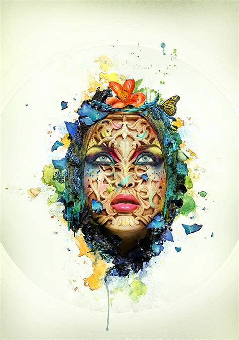 beautiful typography tutorial photoshop create a beautiful abstract portrait in photoshop