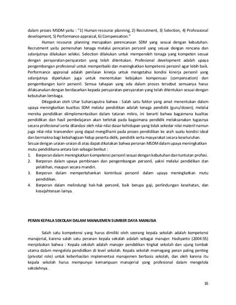 Administrasi Pendidikan Uhar Suharsaputra 1 peran kepala sekolah dalam meningkatkan kualitas sekolah