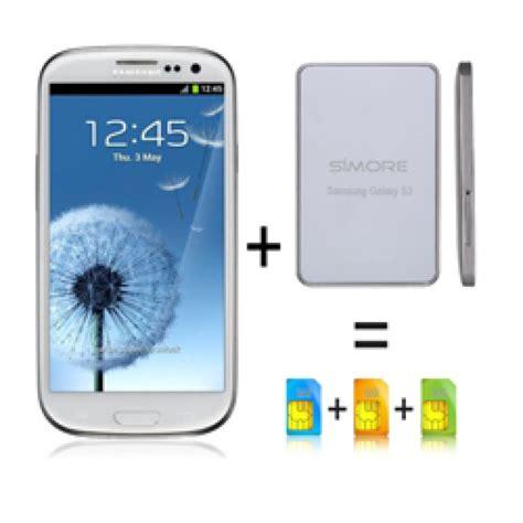 samsung android dual sim mobile galaxy bluebox sim dualsim adapter bluetooth for
