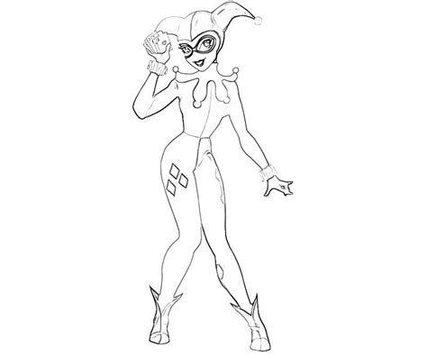 harley quinn and joker coloring pages batman arkham city harley quinn character how coloring