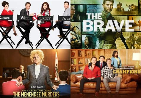 nbc show renewed for 2017 2017 2018 nbc schedule the brave will grace