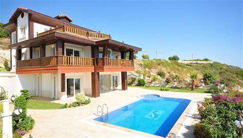 villa kaufen luxus meerblick villa in alanya kaufen mit pool