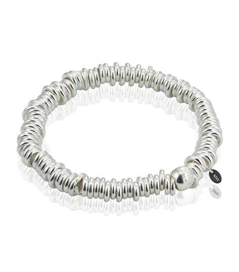 links of sweetie bracelet in metallic lyst