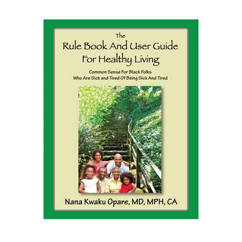 tips for living books the rule book and user guide for healthy living opare