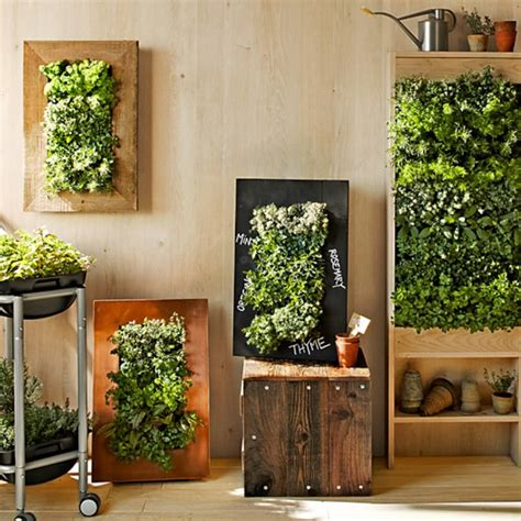 patio wall planters 8 easy ways to create a vertical garden wall inside your home