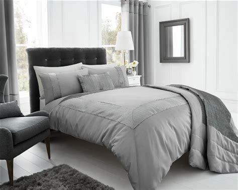 faux silk comforter silver grey stylish textured faux silk duvet cover luxury