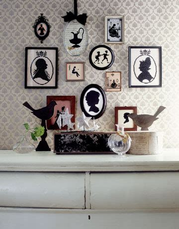 Silhouette Home Decor | a few of my favorite things 62 home decor silhouette frames