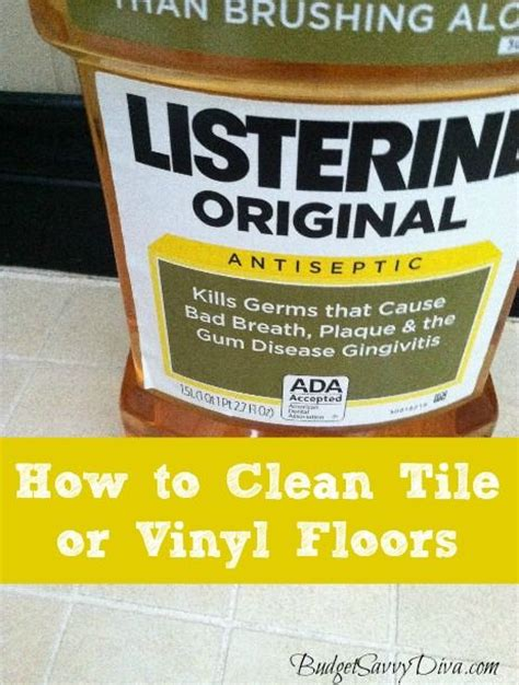 how to clean tile or vinyl floors vinyls floor cleaners