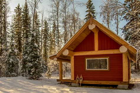 Small Homes Kits Columbia Small Log Cabin For Sale At Horsefly Lake Bc