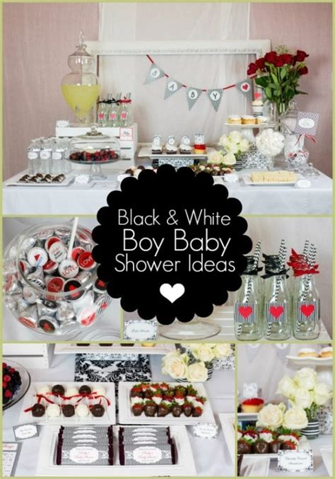 White Baby Shower Ideas by Black And White Boy Baby Shower Ideas Spaceships And