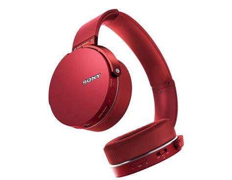 Headset Sony Mdr Xb950bt sony mdr xb950bt r bass bluetooth wireless headphones w microphone ebay