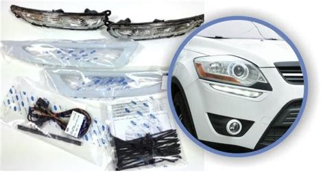 genuine ford kuga daytime running lights kit drl inc