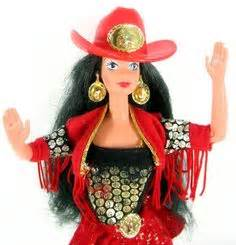 Western Plains Doll Collector Edition 1 country barbies on 49 pins
