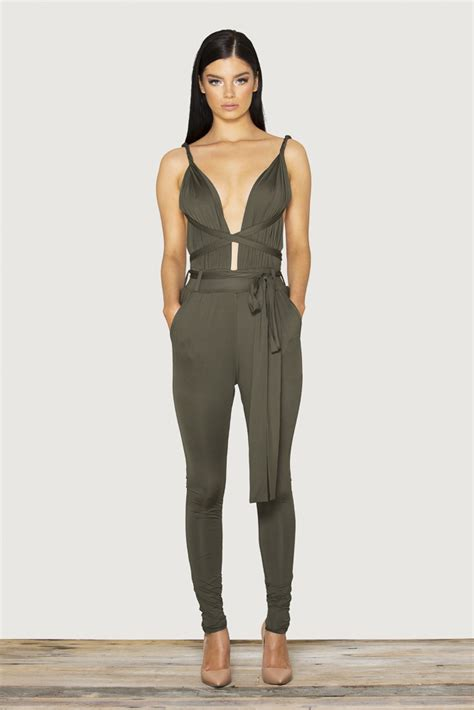 Turtle Neck Fitted Romper Grey Size L 1 2015 New Stylish Casual Tight Romper Jumpsuit
