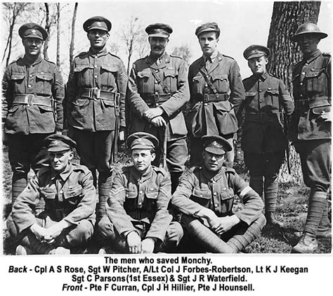 the who saved bronze caribou and monchy le preux world war i centenary