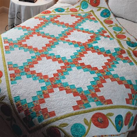 Shopfonsandporter Quilt Kits by Easy Quilts Mod Garden Quilt Kit Quilts Amazing