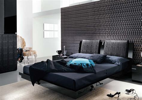 Black Modern Bedroom Furniture Trellischicago Bedroom Furniture In Black