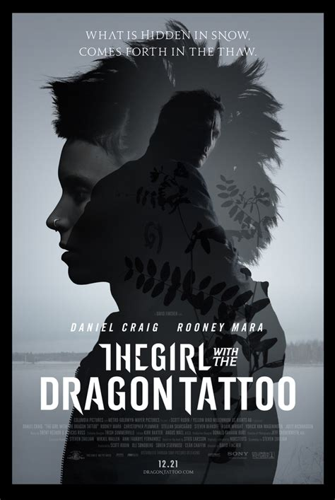 the girl with the dragon tattoo 2011 cast the with the 2011 thinking about books