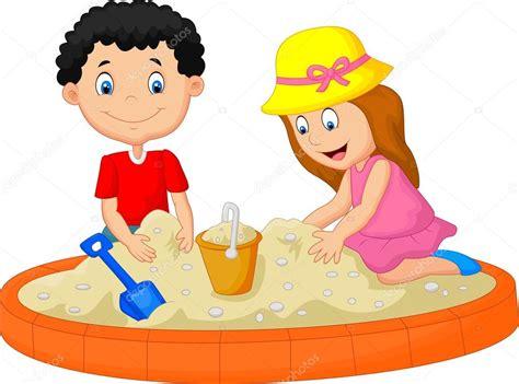 imagenes animadas niños jugando dibujos animados de ni 241 os jugando en la playa edificio la