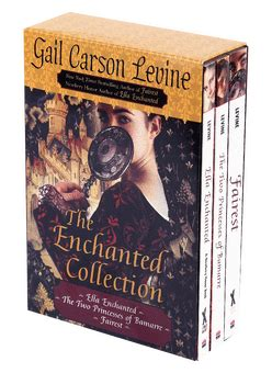 enchanted a collection books the enchanted collection boxed set by gail carson levine