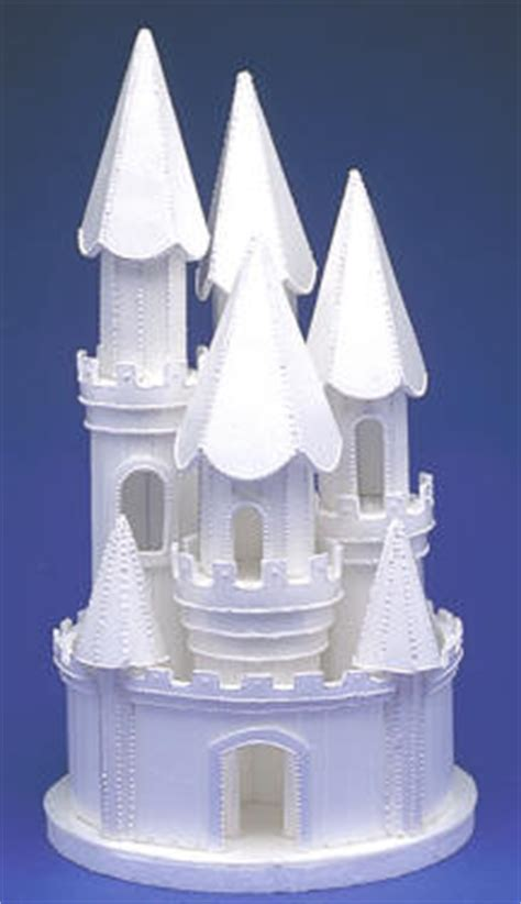 Topper Background Castle lighted castle justcaketoppers