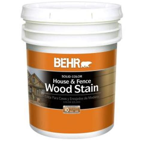 behr 5 gal base solid color house fence wood stain